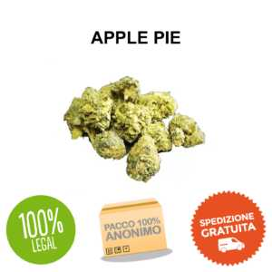 APPLE PIE cannabis legale cbe