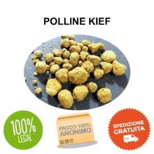 polline kief cbd